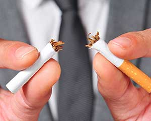 Rauchen aufhoeren mit Arzt